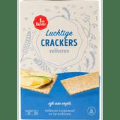 1 de Beste Luchtige crackers volkoren