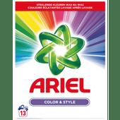 Ariel Poeder wasmiddel kleur & stijl 13 wasbeurten