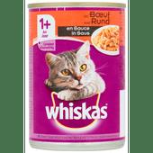 Whiskas Saus rundvlees