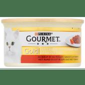 Gourmet Gold duo vlees en tomaat