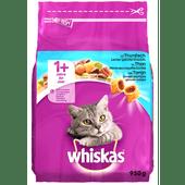 Whiskas Kattenvoer droog tonijn 1+
