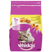 Whiskas Kattenvoer droog kip 1+ jaar