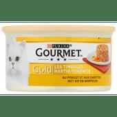 Gourmet Gold hartig torentje kip en wortel