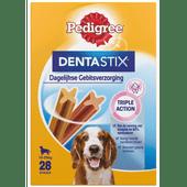 Pedigree Hondensnacks dentastix medium 28 stuks