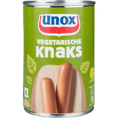 Unox Knaks vegetarisch