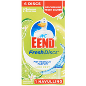 WC-EEND Fresh discs navulling lime 6 disc