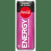 Coca-Cola Energy cherry no sugar
