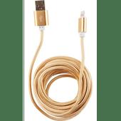 USB oplaadkabel metallic