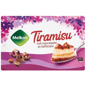 Melkan Tiramisu met mascarpone en koffiesaus
