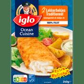 Iglo Ocean cuisine lekkerbekjes naturel, 2 stuks