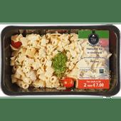Mealmasters Pasta kip roomsaus kaas oud en pesto