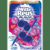 Witte Reus Toiletblok Blauw Actief Bloesem 2 stuks