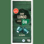 1 de Beste Koffiecups dark lungo sterkte 8
