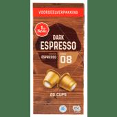 1 de Beste Koffiecups mainstream dark espresso sterkte 8