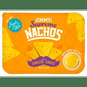 Jimmy's Supreme nachos cheese sauce