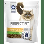 Perfect Fit Kattenvoer sensitive rijk aan kalkoen 1+jaar