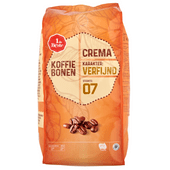 1 de Beste Koffiebonen crema