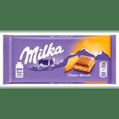Milka Chocoladereep choco-biscuit