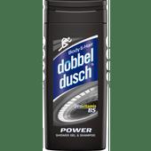 Dobbeldusch Showergel & shampoo power