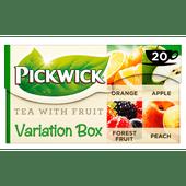 Pickwick Fruit Variatie Groen fruit thee
