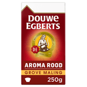 Douwe Egberts Aroma Rood  filterkoffie grove maling