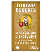 Douwe Egberts Excellent (5) filterkoffie