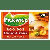 Pickwick Mango & Perzik Rooibos thee