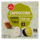 1 de Beste Koffiecups cappuccino  sterkte 3