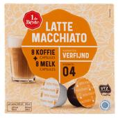 1 de Beste Koffiecups latte macchiato sterkte 4