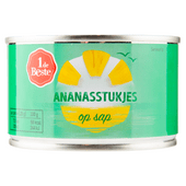 1 de Beste Ananasstukjes op sap