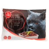 1 de Beste Kat luxe filets vlees variatie 4 stuks