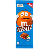 M&M's Chocoladereep crispy