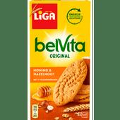 Liga Belvita honing & hazelnoot 6 x 4 stuks