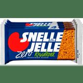 Wieger Ketellapper Snelle Jelle kruidkoek zero 4 stuks