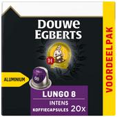 Douwe Egberts Lungo Intens koffiecups voordeelpak