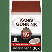 Kanis & Gunnik Dark Roast Koffiepads