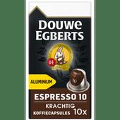 Douwe Egberts Espresso Krachtig koffiecup