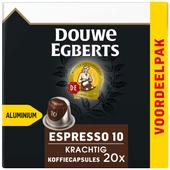 Douwe Egberts Espresso Krachtig koffiecups voordeelpak