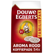 Douwe Egberts Aroma Rood koffiepads familiepak