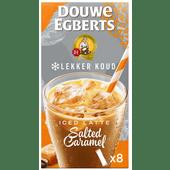 Douwe Egberts Lekker Koud Salted Caramel oploskoffie
