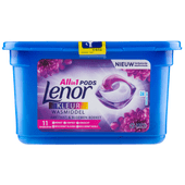 Lenor Vloeibaar wasmiddel 3-in-1 pods amethist & bloemen