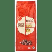 1 de Beste Koffiebonen rood