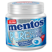 Mentos Kauwgom pure frost strong mint 50 stuks