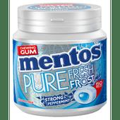 Mentos Kauwgom pure frost strong mint 50 stuks