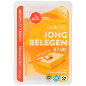 1 de Beste Stuk jong belegen kaas 48+ voordeelverpakking