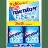 Mentos Pure fresh mini potje fresh mint 2-pack