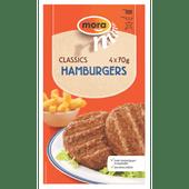 Mora Hamburgers 4 stuks