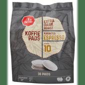 1 de Beste Koffiepads extra dark roast