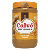 Calvé Pindakaas met stukjes