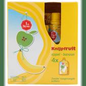 1 de Beste Knijpfruit appel-banaan